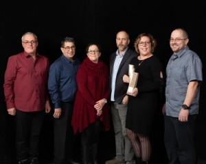 Michel Chiasson, Télébec, Jérémie Arseneau, Lucie Arseneau, Dominic Arseneau, Renée Landry et Jean-Philippe Arseneau, lauréats