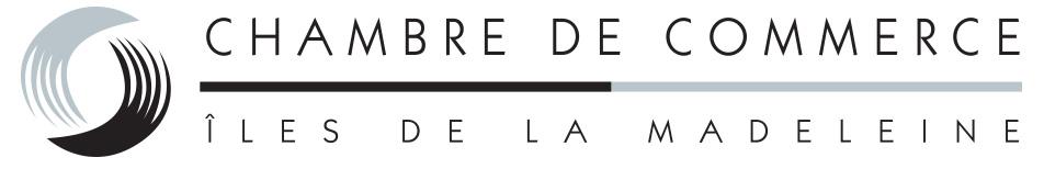 Chambre de commerce des Îles de la Madeleine logo
