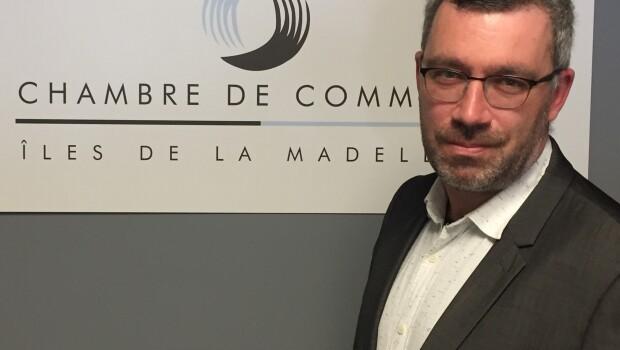 Antonin Valiquette, nouveau directeur général de la Chambre de commerce des Îles à compter du 26 juillet 2021