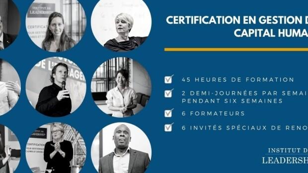 Certification gestion Capital humain CBDC