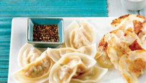 Dumpling au porc du Coup de pouce