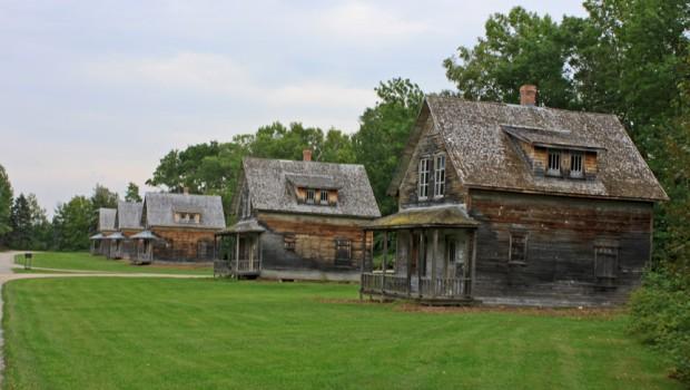 Maisons alignées