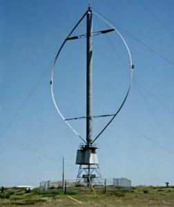 Darrieus-windmill