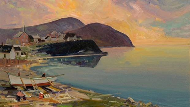 Mission accomplie pour le Symposium de peinture de L'Étang-du-Nord - Portail officiel des Îles ...