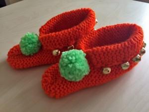 chaussons-orange