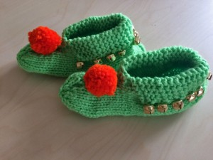 chaussons-verts