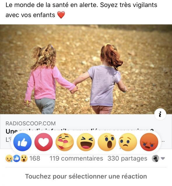 Confinement Facebook Lance Le Nouveau Bouton Reaction Solidaire Portail Officiel Des Iles De La Madeleine